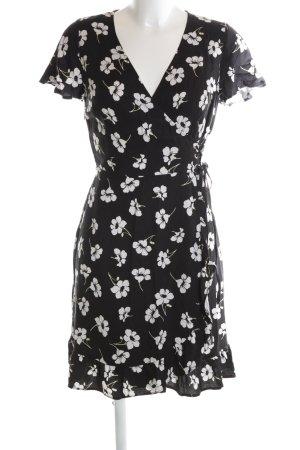 Orsay Wraparound black allover print casual look