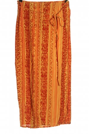 Orsay Kopertowa spódnica jasny pomarańczowy-czerwony Na całej powierzchni
