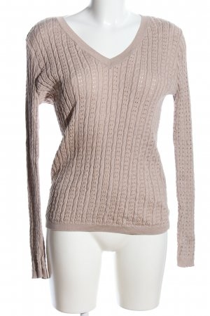Orsay Zopfpullover wollweiß Zopfmuster Casual-Look