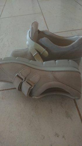 Avena Slip-on Shoes camel leather