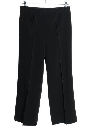 Orwell Pantalone a pieghe nero stile professionale