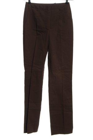 Orwell Spodnie z zakładkami brązowy W stylu casual