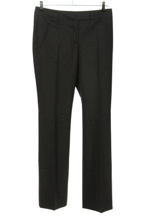 Orwell Spodnie z zakładkami czarny W stylu biznesowym