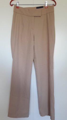 Orwell Gerade geschnittene Business-Hose mit Wolle beige sand Gr. 36 gekürzt!