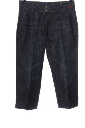 Orwell pantalón de cintura baja negro look casual