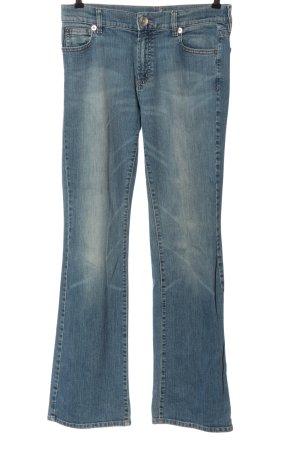 Orwell Jeans vita bassa blu stile casual