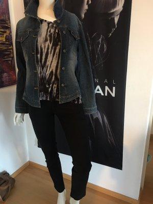 Orwell Jeansjacke Michael Stars LA Shirt Seven for all Mankind Hose optional  schwarz Small