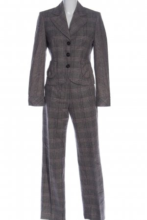 Orwell Twin Set tipo suéter light grey check pattern business style
