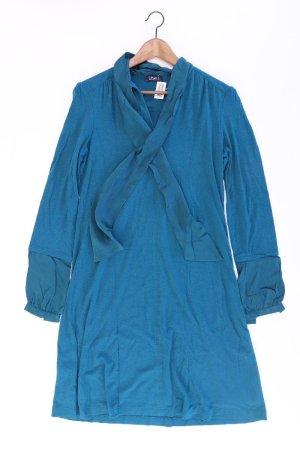 Orwell Jerseykleid Größe 40 Langarm blau aus Viskose