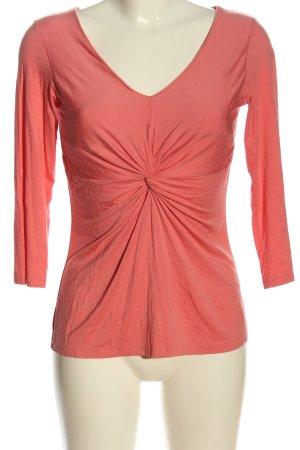 Orwell Langarm-Bluse pink Casual-Look