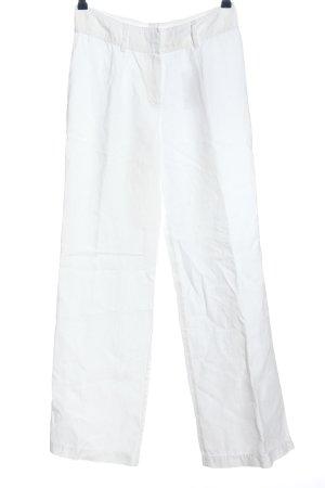 Orwell Pantalone di lino bianco stile casual