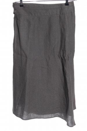 Orwell Falda de lino gris claro look casual