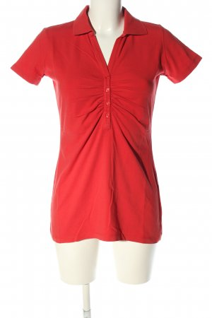 Orwell Polo shirt rood casual uitstraling