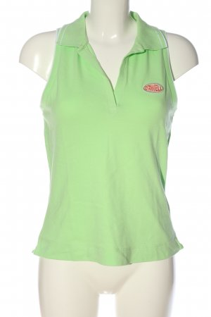 Orwell Polo Top green casual look