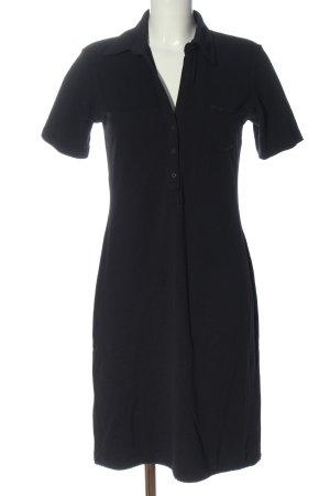 Orwell Robe Polo noir style décontracté