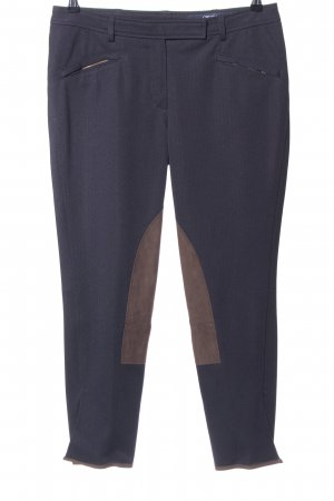Orwell Reiterhose braun-blau Business-Look