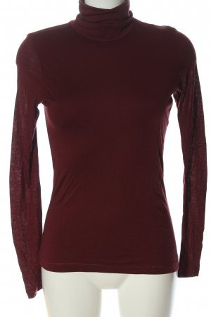 Orwell Turtleneck Shirt red casual look