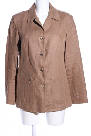 Orwell Safari Jacket brown flecked casual look