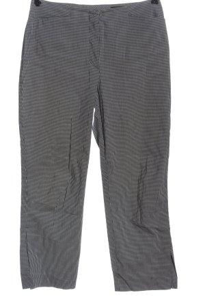 Orwell Jersey Pants black-white allover print elegant