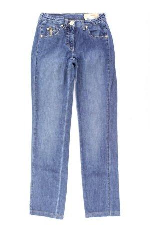 Orwell Jeans a gamba dritta blu-blu neon-blu scuro-azzurro Cotone