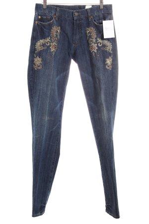 Orwell Straight-Leg Jeans blau Casual-Look