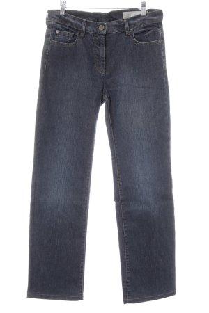 Orwell Straight-Leg Jeans dunkelblau Jeans-Optik