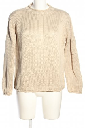 Orwell Knitted Sweater cream casual look