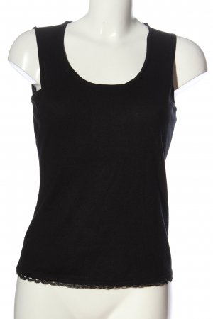 Orwell Knitted Top black casual look