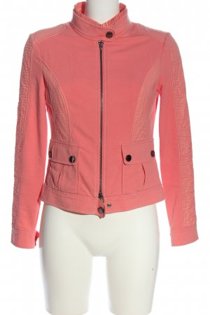Orwell Sweatjack roze casual uitstraling