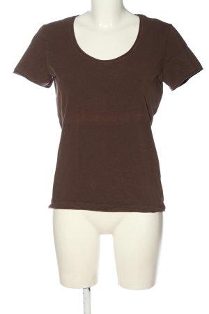 Orwell T-shirt marrone stile casual