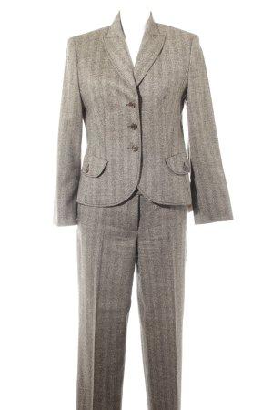 Orwell Wollen blazer grijs-bruin-zwart zakelijke stijl