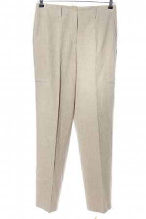 Orwell Woolen Trousers natural white weave pattern casual look