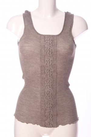 Oscalito Camisole lichtgrijs gestippeld casual uitstraling