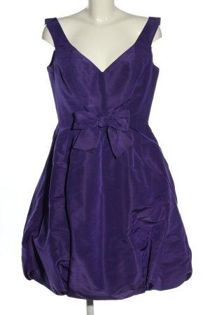 Oscan de la Renta Robe de bal violet élégant