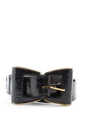 Oscar de la renta Cintura di pelle nero stile casual