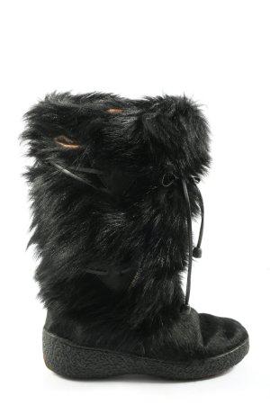 Oscar Sport Bottines plissées noir élégant