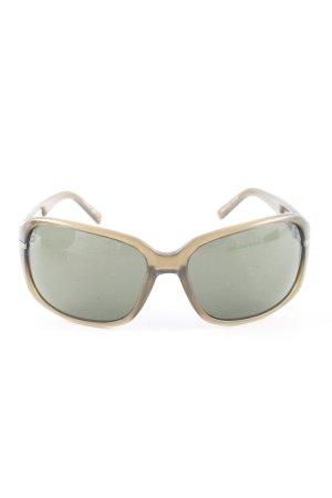 osiris eckige Sonnenbrille braun-goldfarben Casual-Look