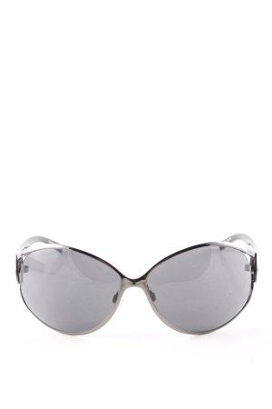 osiris ovale Sonnenbrille schwarz Casual-Look