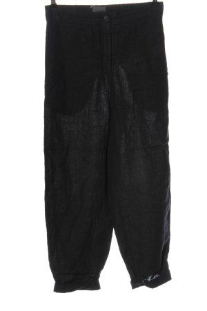 Oska Linen Pants black casual look