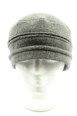 Oska Woolen Hat light grey flecked casual look