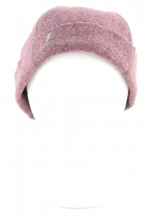 Oska Fabric Hat pink-light grey flecked casual look