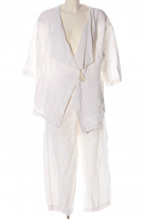Oska Woven Twin Set white casual look