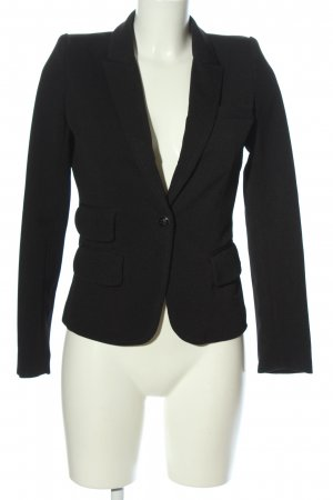 Osley Jeansblazer schwarz-braun Business-Look