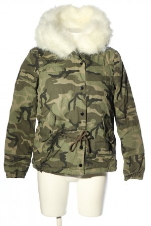 Osley Short Jacket camouflage pattern casual look