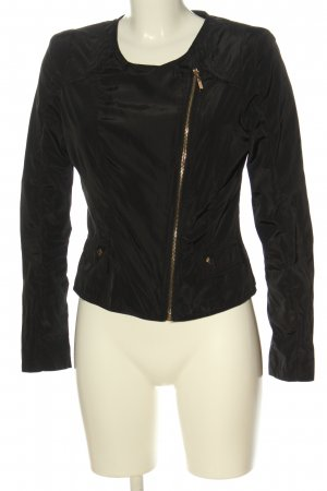 Osley Short Jacket black casual look