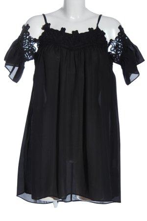 Osley Long Blouse black casual look