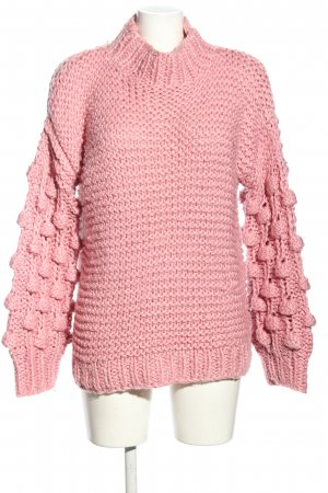 Osley Knitted Sweater pink casual look