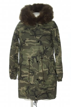 Osley Winter Jacket khaki allover print casual look