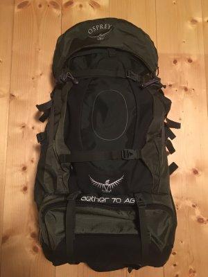 Osprey Sac à dos de randonnée gris vert