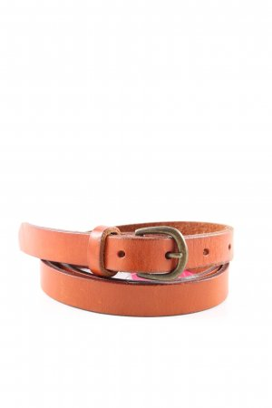 Osprey Leather Belt light orange casual look